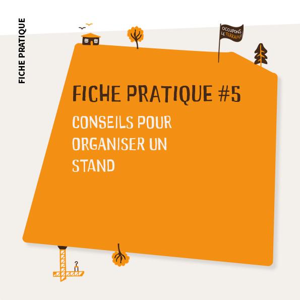 Fiche Pratique #5 Conseils pour organiser un stand